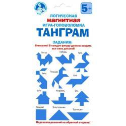 Логическая магнитная игра-головоломка Танграм