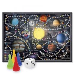 Солнечная система. Игра-ходилка с фишками