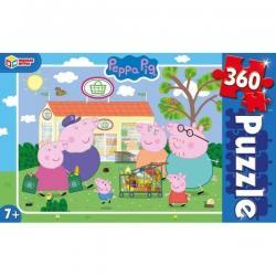 Пазлы классические Свинка Пеппа, 360 деталей