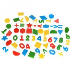 Мягкие цифры и фигуры (33 цифры, 30 фигур)