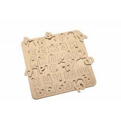 Деревянная рамка-вкладыш Bradex Азбука