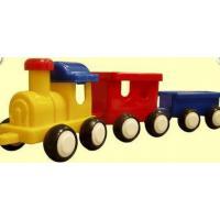 Паровозик с двумя вагонами