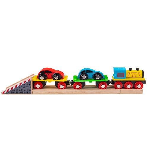Деревянная игрушка Автомобильный погрузчик
