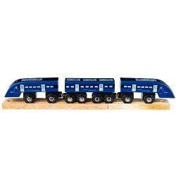 Деревянная игрушка Высоко скоростной поезд